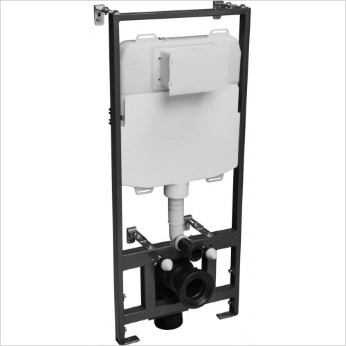Roper Rhodes toilets - 1.17m Wall Hung WC Frame