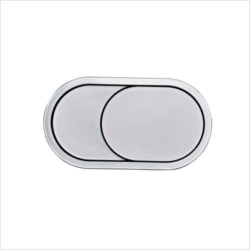 Roper Rhodes toilets - Oval Furniture Flush Plate