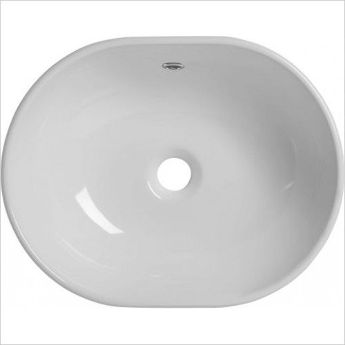 Roper Rhodes Washbasins - Cell Oval Ceramic Basin 450 x 350mm