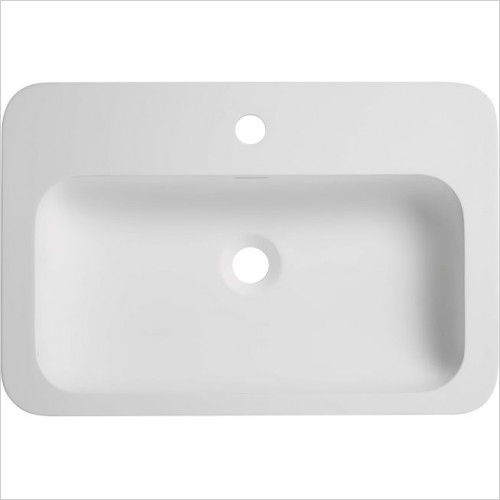 Roper Rhodes Washbasins - Circuit Solid Surface Basin 580 x 390mm