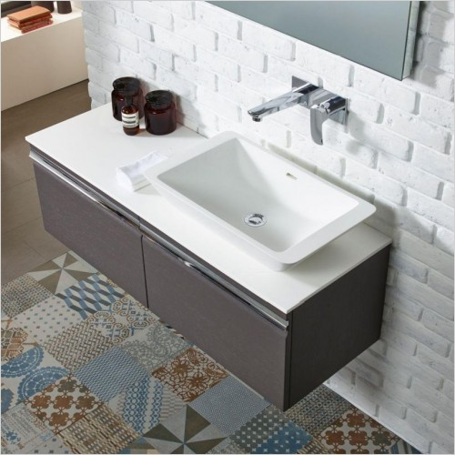 Roper Rhodes Washbasins - Stage Solid Surface Basin 580 x 345mm