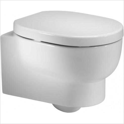 Roper Rhodes toilets - Zest 500mm Back To Wall WC Pan