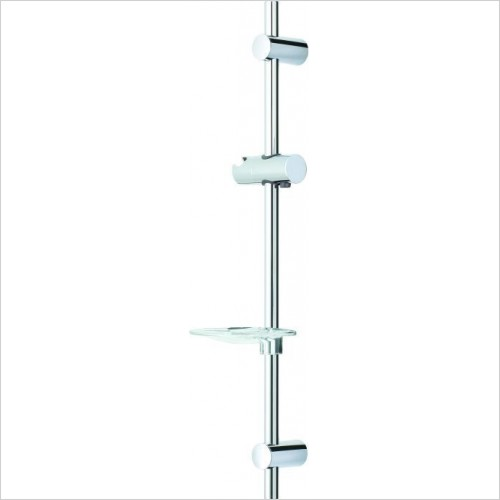 Roper Rhodes Brassware - Wave Adjustable Riser Rail