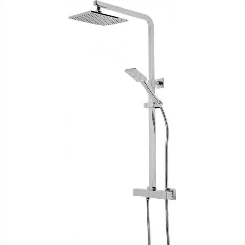 Roper Rhodes Brassware - Event Square Diverter Bar Valve Shower System