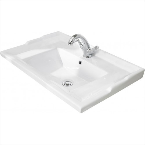 Bayswater Washbasins - 600mm Traditional Basin
