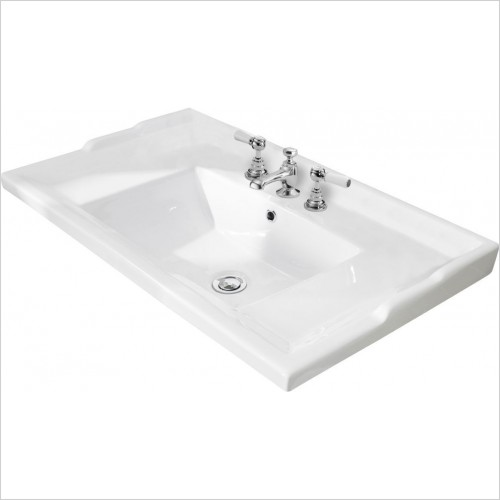 Bayswater Washbasins - 800mm Traditional Basin