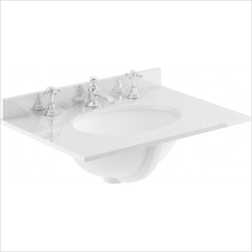 Bayswater Washbasins - 600mm Single Bowl