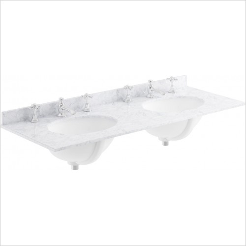 Bayswater Washbasins - 1200mm Double Bowl