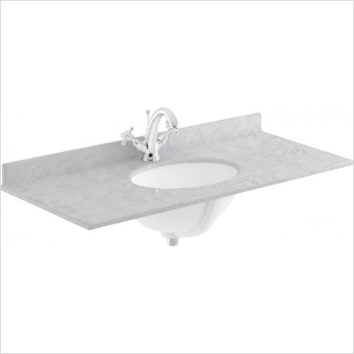 Bayswater Washbasins - 1000mm Single Bowl 1 Tap Hole