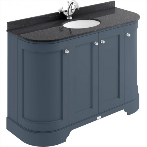 Bayswater Furniture - 1200mm 4-Door Curved Basin Cabinet