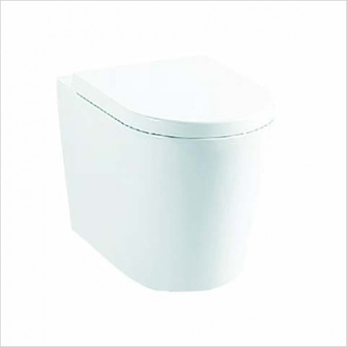 Clearance - SMART-LINE Btw pan and soft closing seat.