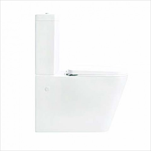 Bathwise toilets - EDGE-LINE Close coupled btw wc incl. soft close seat