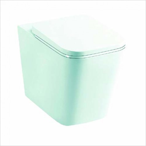 Bathwise toilets - EDGE-LINE Btw pan with soft closing seat
