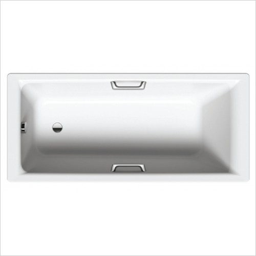 Bathwise Baths - Clean-line 1800x800mm enamel bath central waste