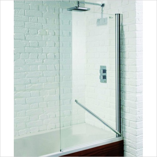 Bathwise Bath Screens - Splash-line single panel bath screen with safe seal.