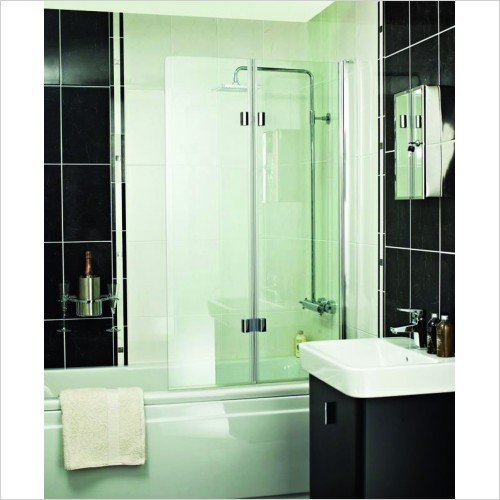 Bathwise Bath Screens - Splash-line folding bath screen