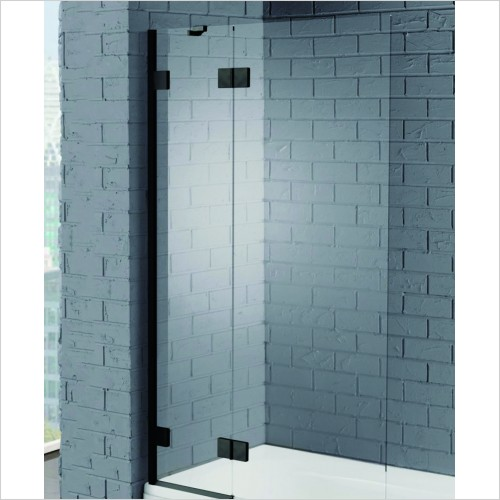 Bathwise Bath Screens - Splash-line 2 panel hinged bath screen