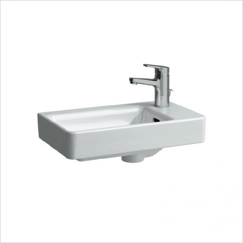 Bathwise Washbasin & Furniture - Flex-line 480x280mm right hand wash basin1TH