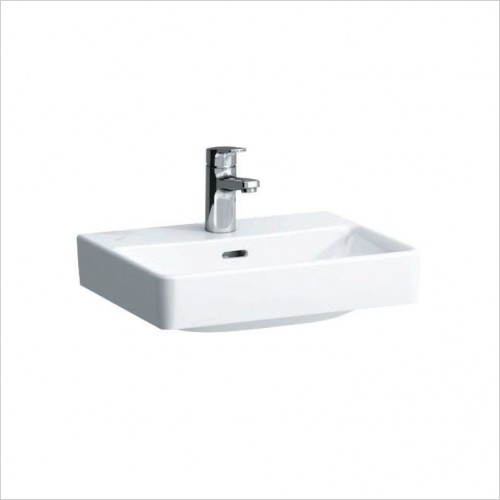 Bathwise Washbasin & Furniture - Flex-line 450x340mm washbasin 1TH