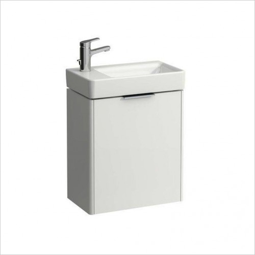 Bathwise Washbasin & Furniture - Flex-line left hand hinged vanity unit