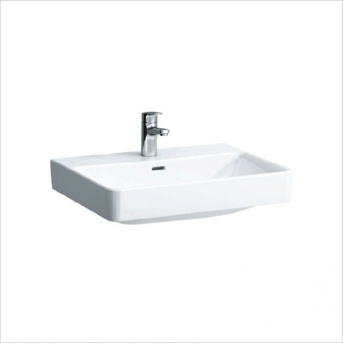 Bathwise Washbasin & Furniture - Flex-line 600x380mm washbasin 1TH