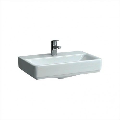 Bathwise Washbasin & Furniture - Flex-line 600x380mm compact washbasin 1TH