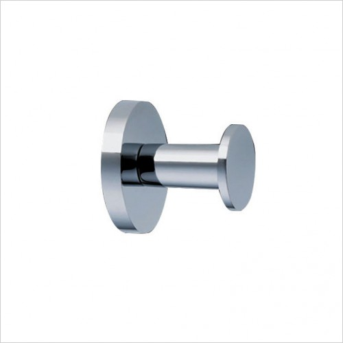 Bathwise Accessories - Pure-line single robe hook