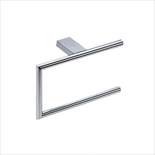 Bathwise Accessories - Straight-line open towel ring
