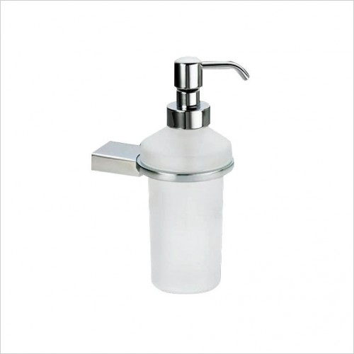 Bathwise Accessories - Straight-line soap dispenser