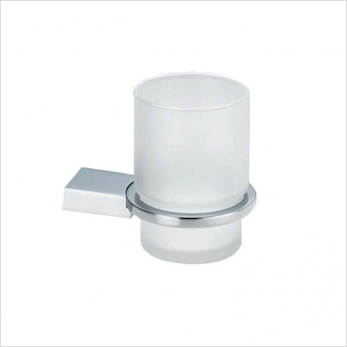 Bathwise Accessories - Straight-line tumbler holder