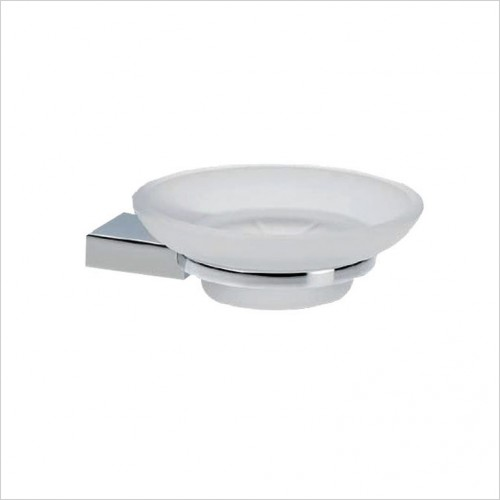 Bathwise Accessories - Straight-line soap dish holder
