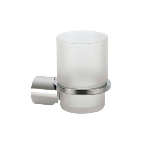 Bathwise Accessories - Round-line tumbler holder