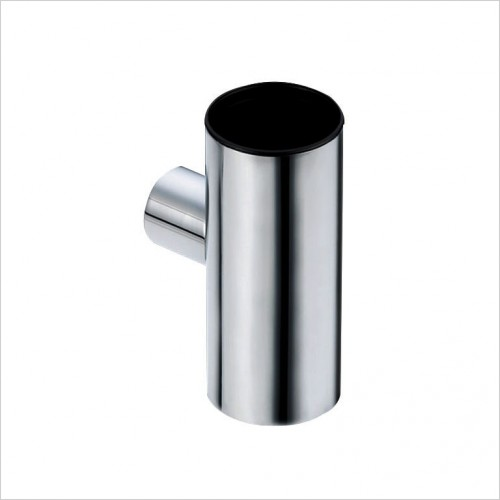 Bathwise Accessories - Round-line metal tumbler holder