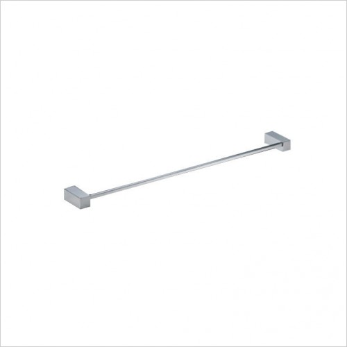 Bathwise Accessories - Cube-line towel rail 600mm