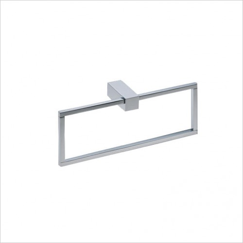 Bathwise Accessories - Cube-line towel ring
