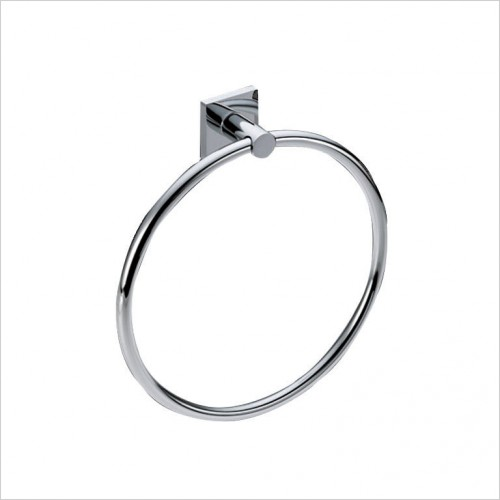 Bathwise Accessories - Square-line towel ring