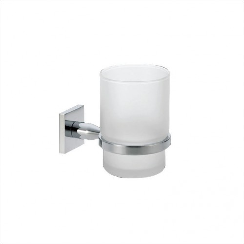 Bathwise Accessories - Square-line tumbler holder