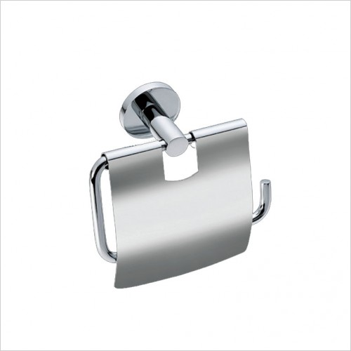 Bathwise Accessories - Comfort-line toilet roll holder with cover