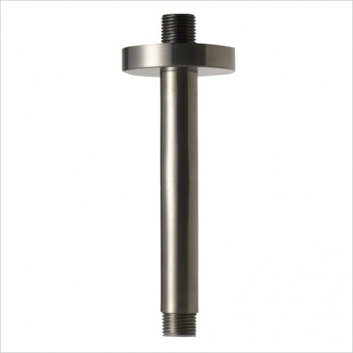 Bathwise brassware - Colour-line III 150mm ceiling arm