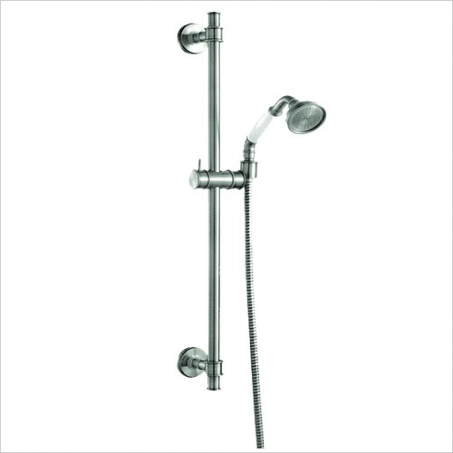 Bathwise brassware - Oxford line 680mm regal slide rail set