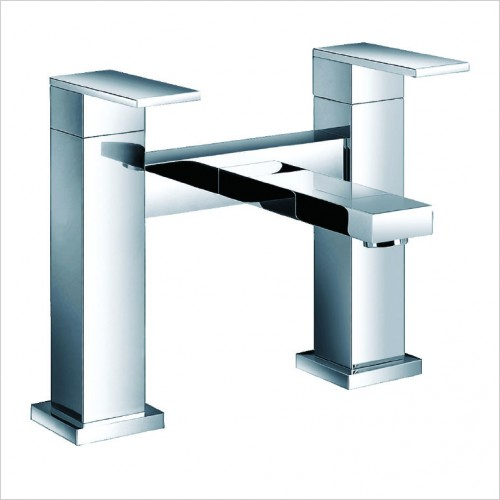 Bathwise brassware - Edge-line deck mount bath filler
