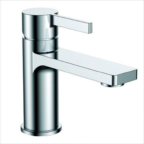 Bathwise brassware - Smart-line basin mixer waste excluded