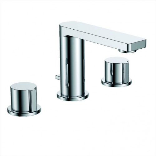 Bathwise brassware - Smart-line 3th basin mixer excluding waste