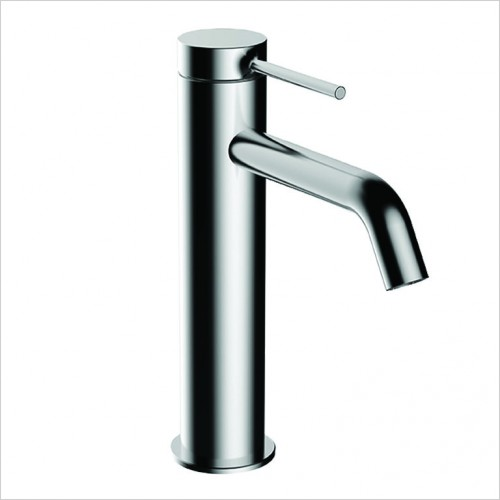 Bathwise brassware - Comfort-line 195mm high basin mixer excluding waste