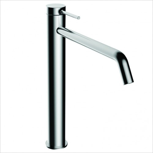 Bathwise brassware - Comfort-line tall basin mixer excluding waste