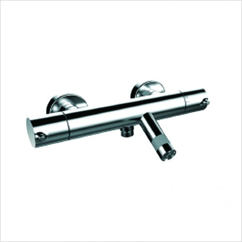 Bathwise brassware - Comfort-line wall mount thermostatic bath shower mixer only