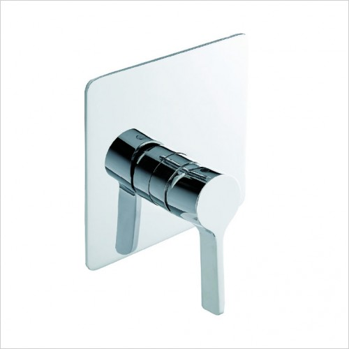 Bathwise brassware - Pure-line 1 outlet manual valve