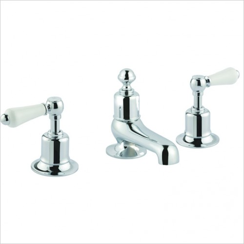 Bathwise brassware - OXford-line II lever deck mount 3th bath filler