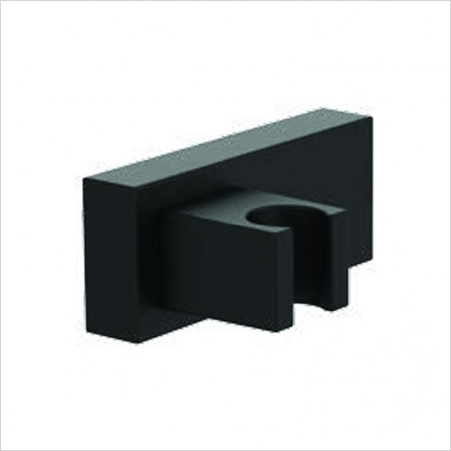 Bathwise brassware - Colour-line VII square wall bracket