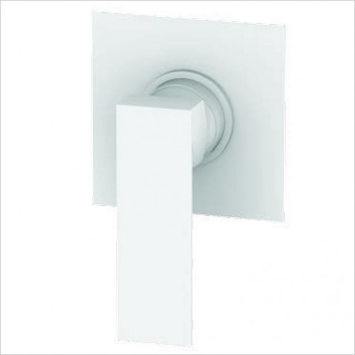 Bathwise brassware - Colour-line VIII square 1 outlet manual valve